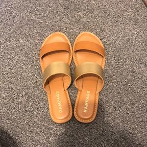 Rampage two strap sandals
